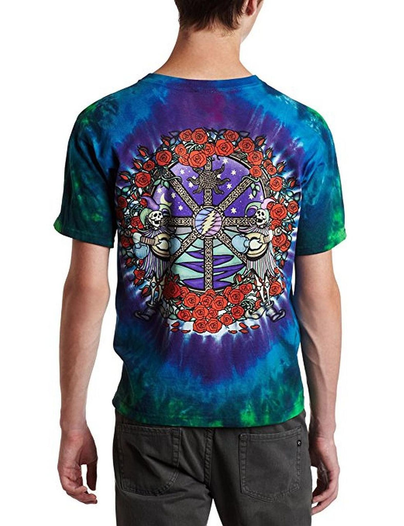 Grateful Dead Celtic Mandala Tie Dye T-Shirt