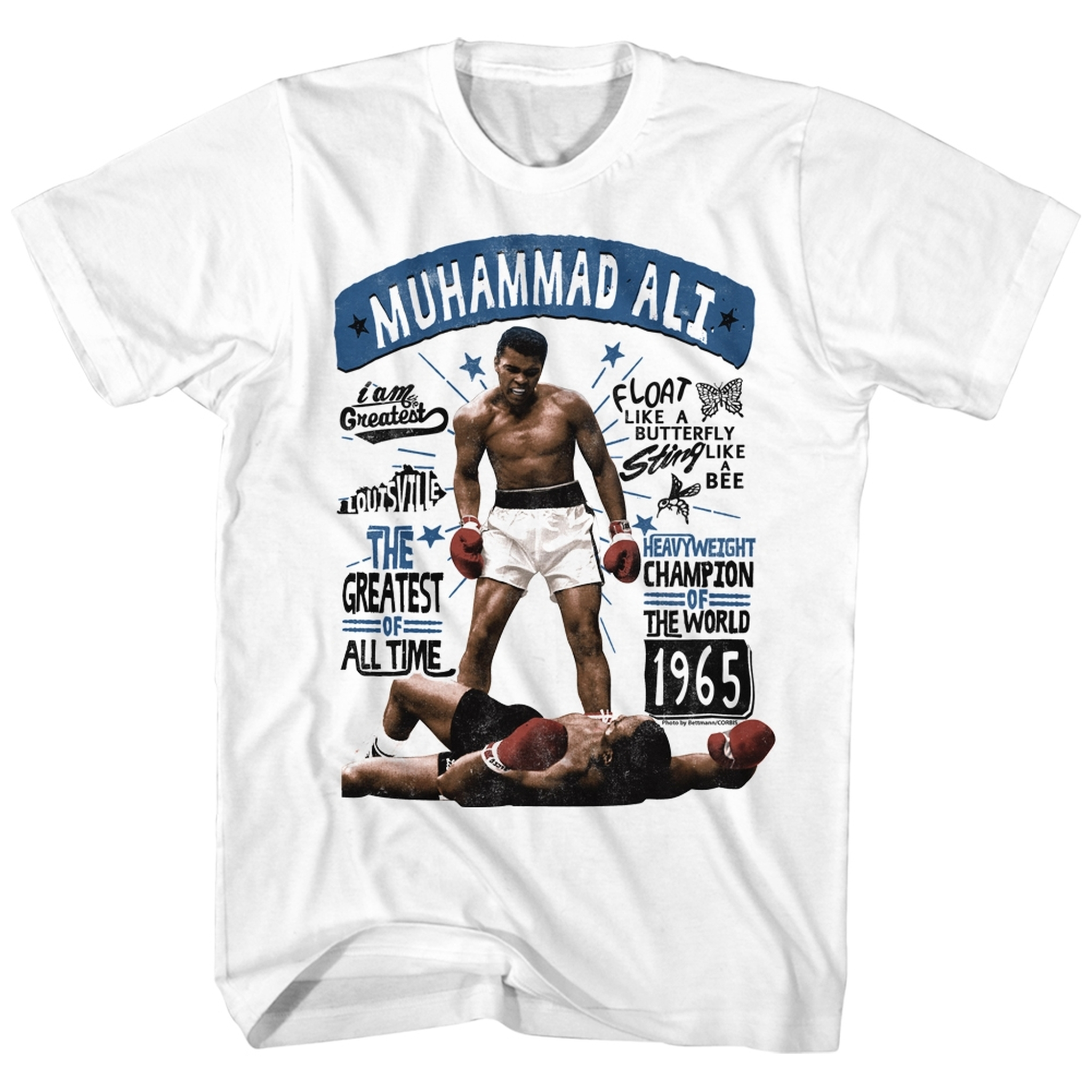 Muhammad Ali Boxing Champ I Am The Greatest Of All Time Adult T Shirt