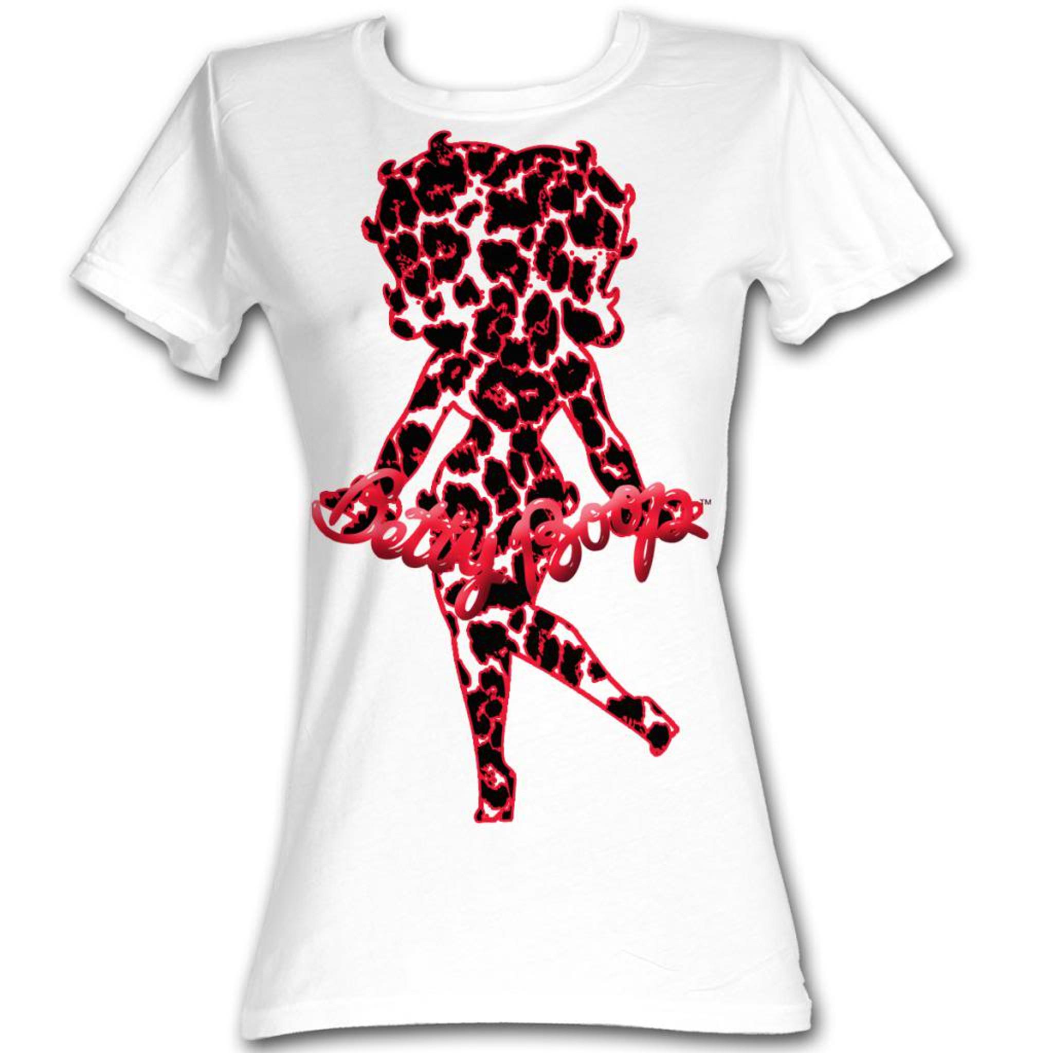 Betty Boop Stardust Juniors T-Shirt