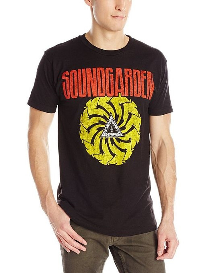 Soundgarden Badmotorfinger Black Lightweight T-Shirt