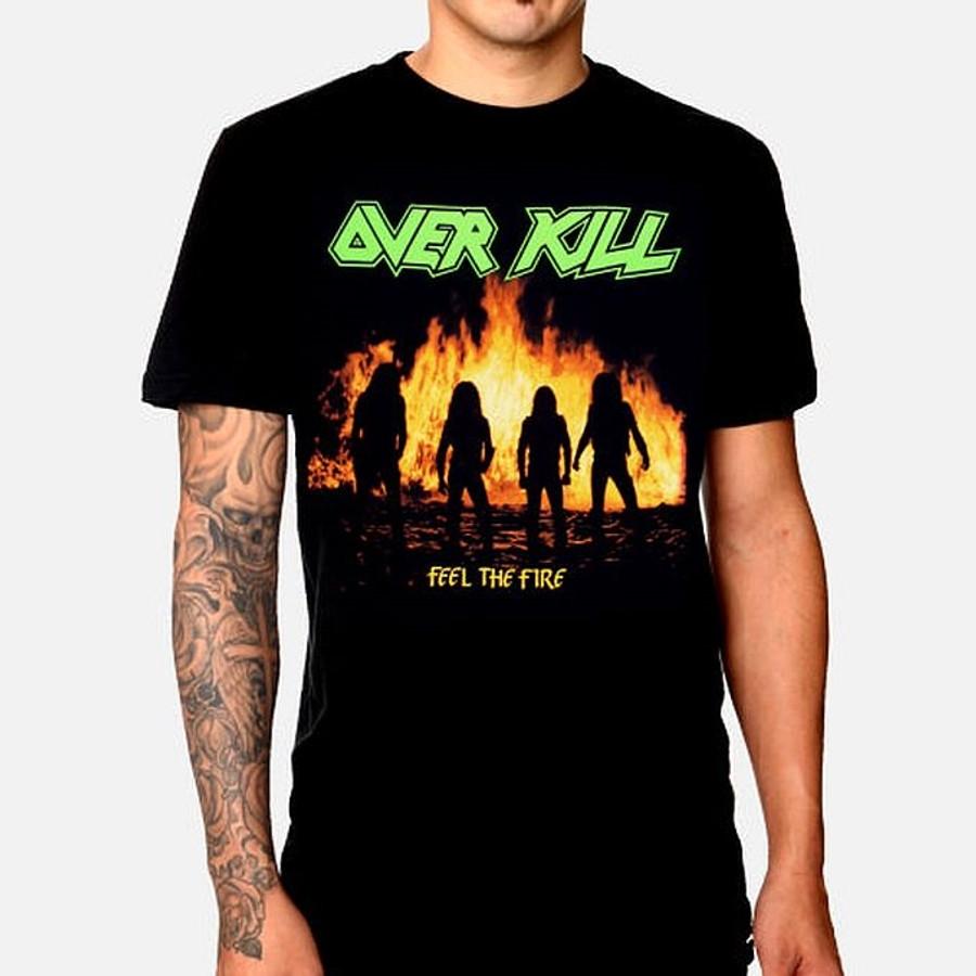 5499f71ad Overkill Feel The Fire T-Shirt