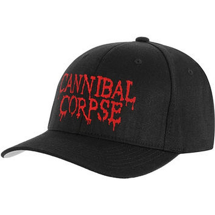 Cannibal Corpse Embroidered Logo Flexfit Hat Cap 308b48e7b21