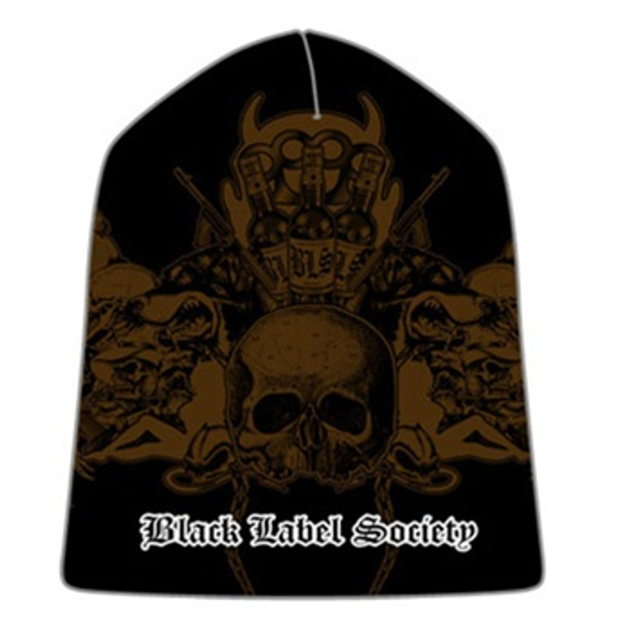 2c4b490b66da5 Black Label Society - Skullage Beanie
