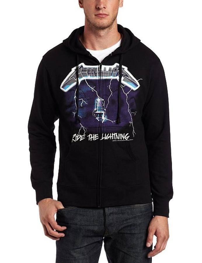 c016b35f Metallica - Ride The Lightning Hoodie Sweatshirt