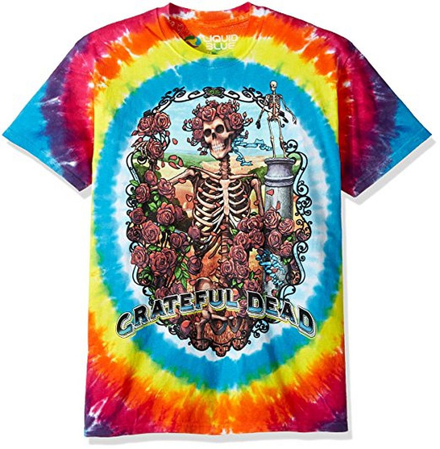 Grateful Dead Rainbow Bertha Tie-Dye T-Shirt