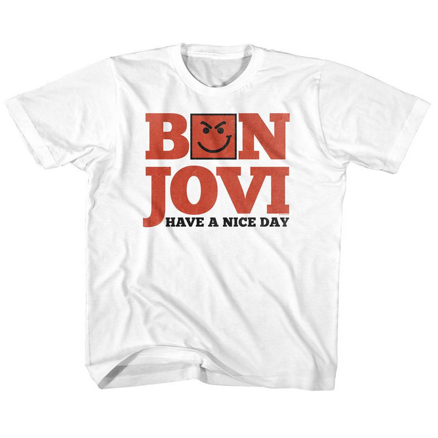 e7ae860afbacc Bon Jovi Have A Nice Day White Children s T-Shirt