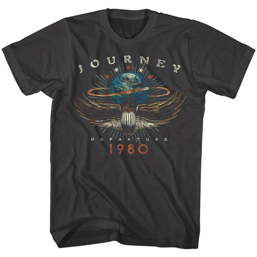 Journey 1980 Smoke Adult T-Shirt