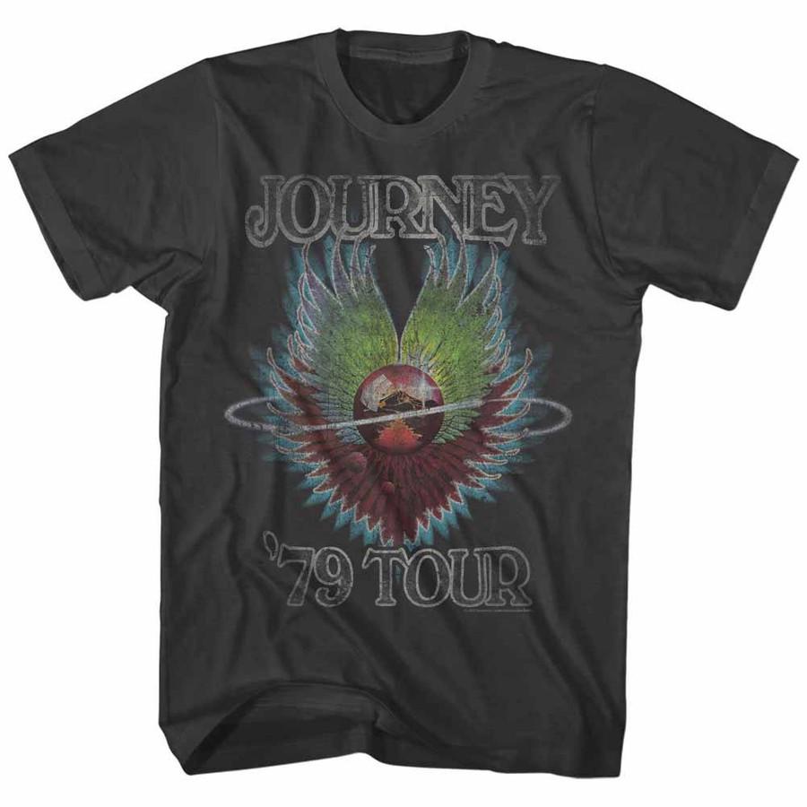 Journey 1979 Smoke Adult T-Shirt