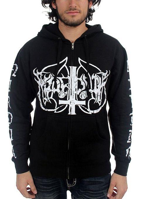 Marduk - Wolf Logo Zip Hoodie Sweatshirt