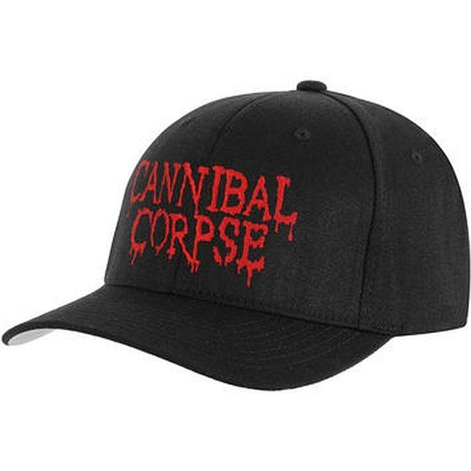 ada038b2f Cannibal Corpse Embroidered Logo Flexfit Hat Cap