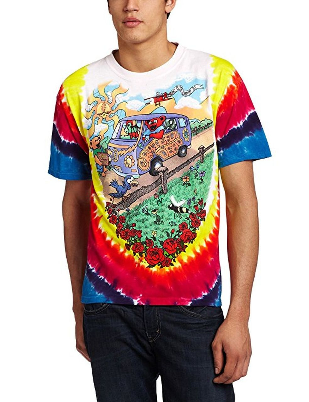 Grateful Dead Summer Tour Bus T-Shirt