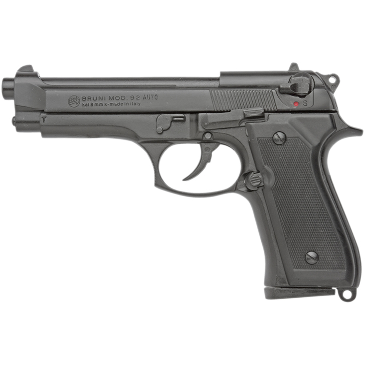 Bruni 8mm Full Auto M92 Replica Blank Firing Pistol Main Image