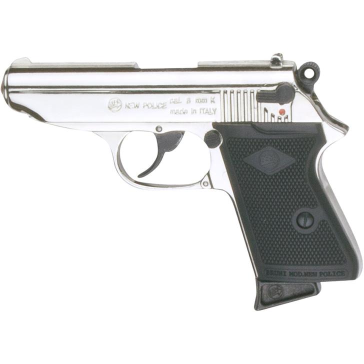 Replica James Bond Style Nickel Finish 9MM Blank Firing Automatic Gun Main Image
