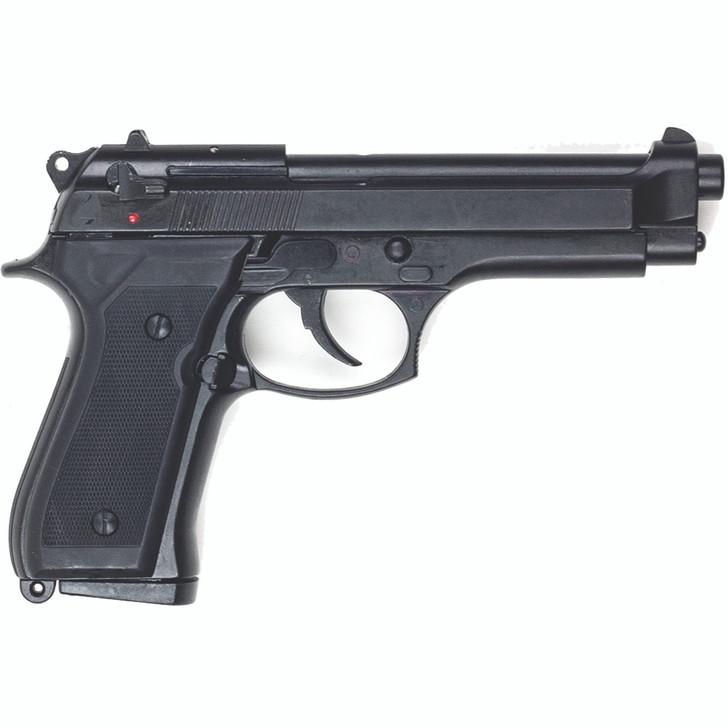 Replica M92 9mm Semi Automatic Blank Firing Gun Blued Finish Alt Image 1