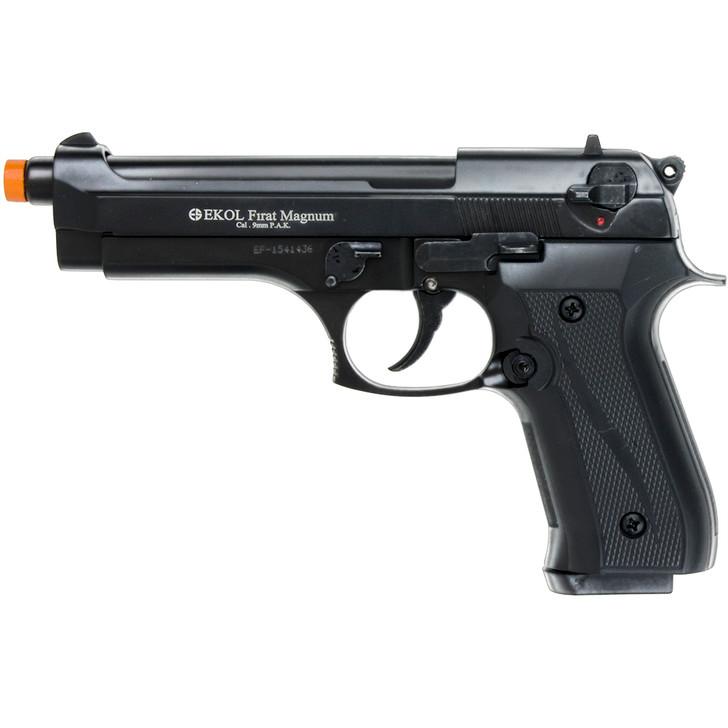 Firat Magnum 92 Front Firing Blank Gun 9mm Semi Automatic Black Main Image