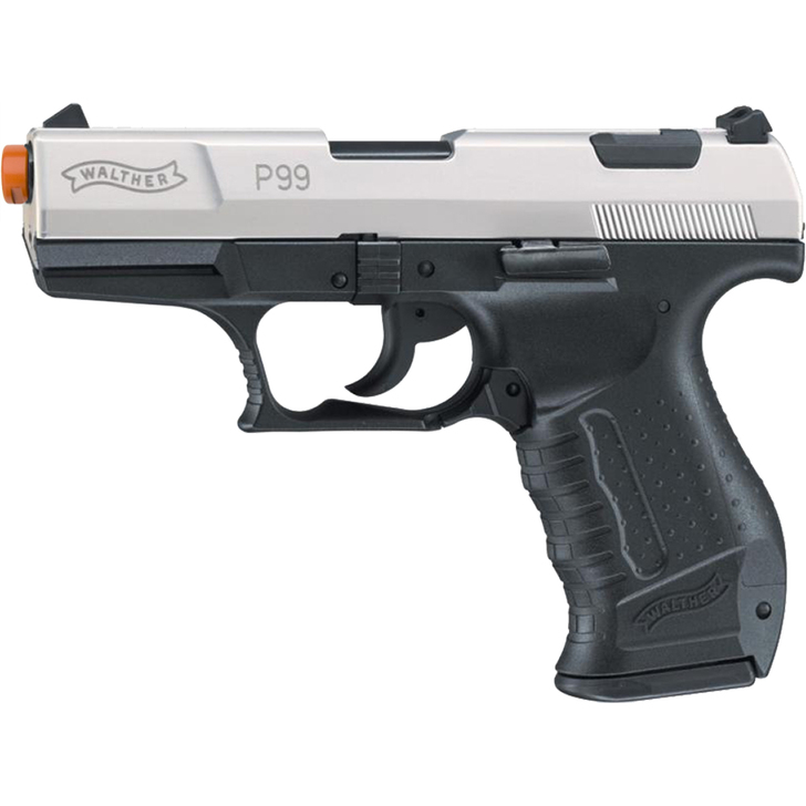 Walther P99 Front Firing-9mm Blank Gun Bi-color Finish Main Image