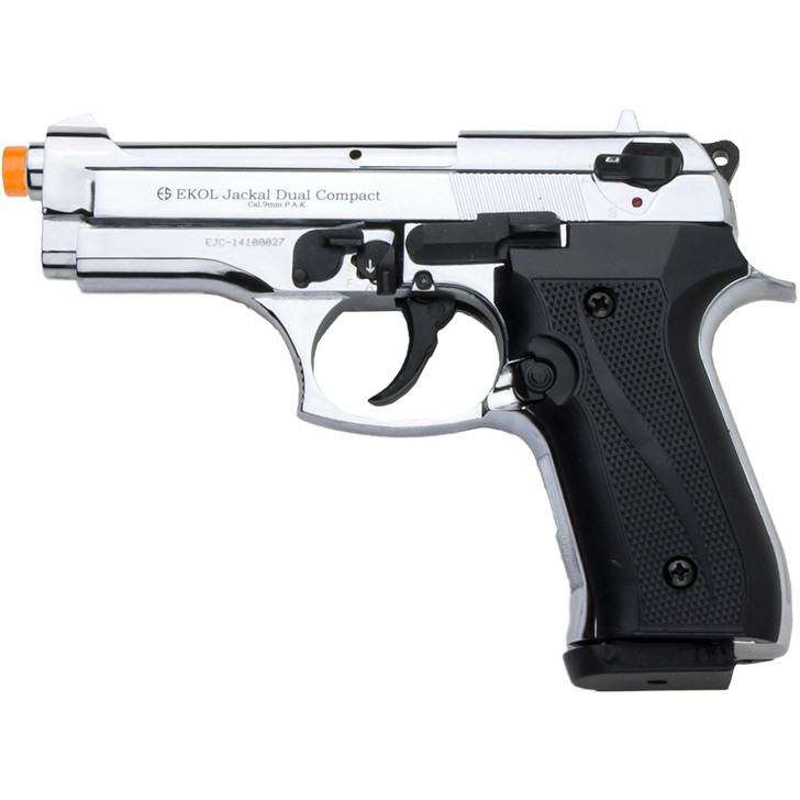 Jackal Full Automatic Compact 9mm Front Firing Blank Gun Main Image