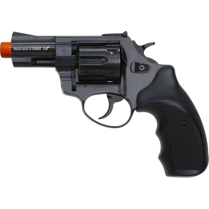 """ZORAKI R1 2.5""""  Front Firing Blank Revolver- Black Main Image"""
