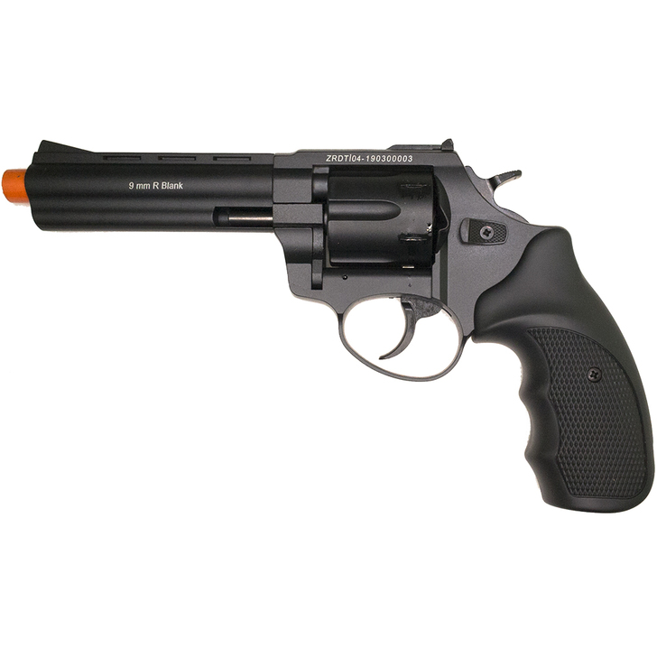 """ZORAKI R1 4.5""""  Front Firing Blank Revolver- Black Main Image"""