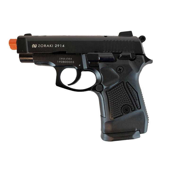 ZORAKI 2914 Semi Auto Blank Pistol - Black Main Image