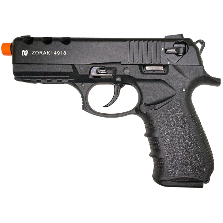 ZORAKI 4918 Semi Auto Blank Pistol - Black Main Image