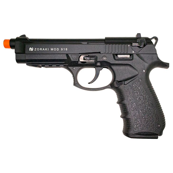 ZORAKI 918 Semi Auto Blank Pistol - Black Main Image