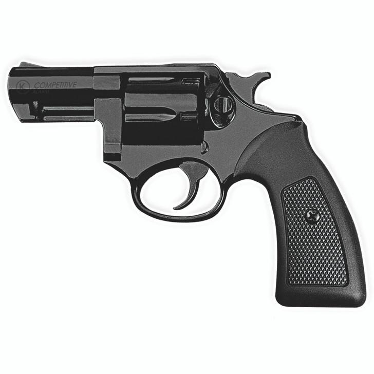 Kimar Competitive 6MM Blank Firing Revolver - Black Finish Main Image