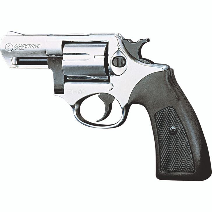 Kimar Competitive 6MM Blank Firing Revolver - Nickel Finish Main Image
