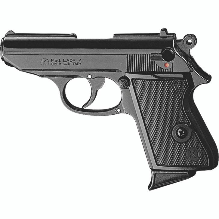 Kimar Lady K 8MM Semi-Auto Blank Firing Pistol - Black Finish Main Image