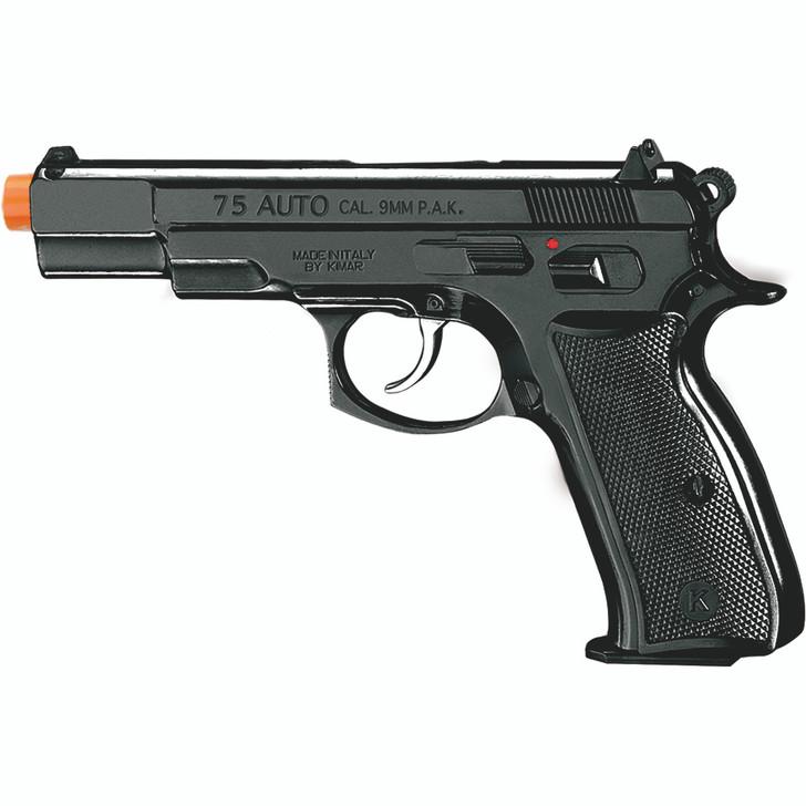 Kimar Mod. 75 Auto Front Firing Blank Pistol - Black Finish Main Image