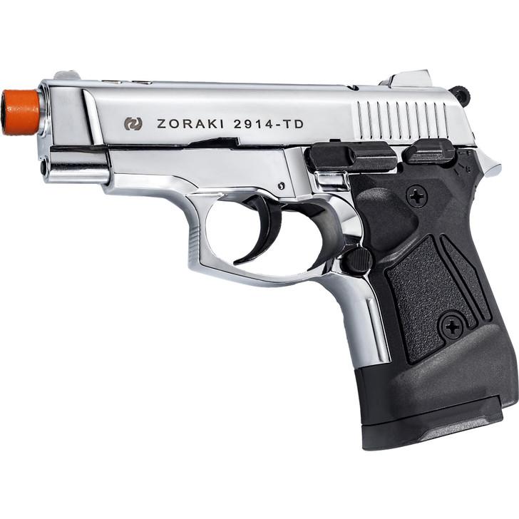 ZORAKI 2914 Semi  Auto Blank Pistol - Chrome Main Image