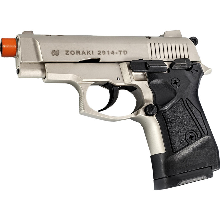 ZORAKI 2914 Semi  Auto Blank Pistol - Satin Main Image