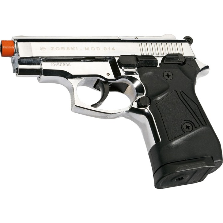 ZORAKI 914 Semi Auto Blank Pistol - Chrome Main Image