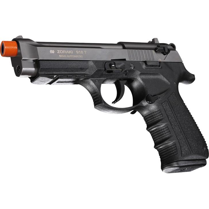 ZORAKI 918 Semi Auto Blank Pistol - Titanium Main Image