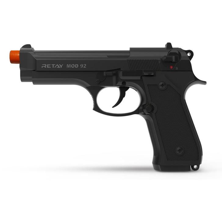 Retay Mod92 Blank Pistol 9MM PAK Black Main Image