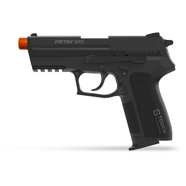 Retay S20 Blank Pistol 9MM PAK Black Main Image