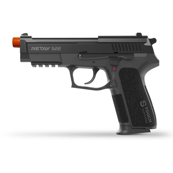 Retay S22 Blank Pistol 9MM PAK Black Main Image
