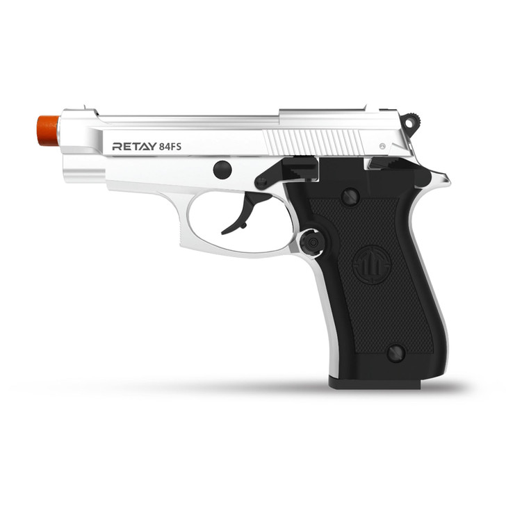Retay 84 FS Blank Pistol 9MM PAK Chrome Main Image