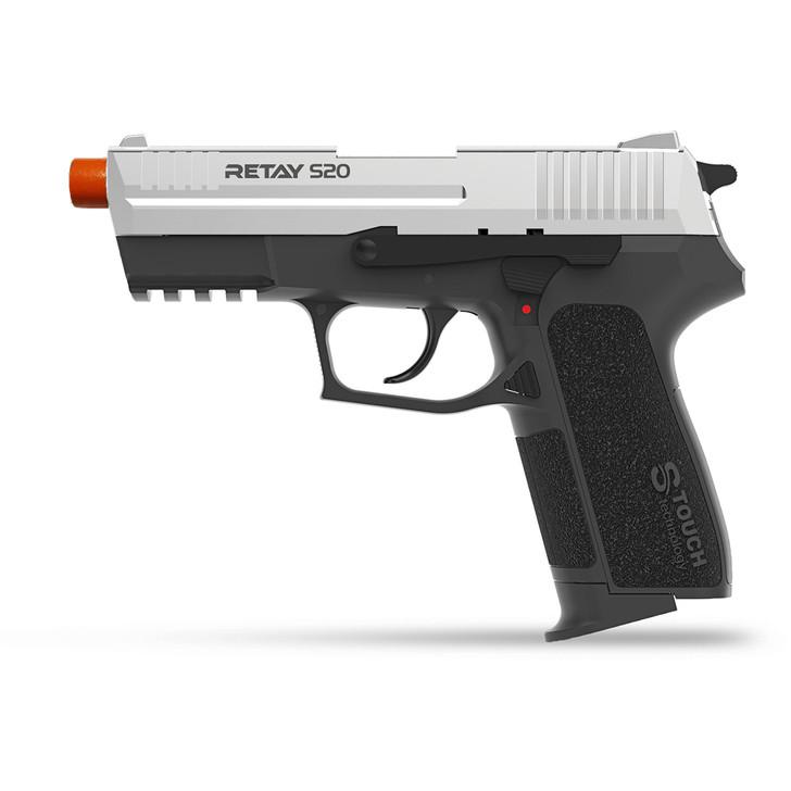 Retay S20 Blank Pistol 9MM PAK Nickel Main Image