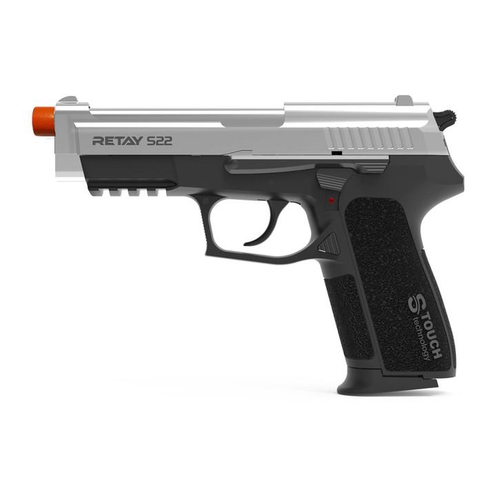 Retay S22 Blank Pistol 9MM PAK Nickel Main Image