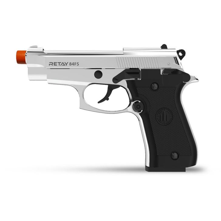 Retay 84 FS Blank Pistol 9MM PAK Nickel Main Image