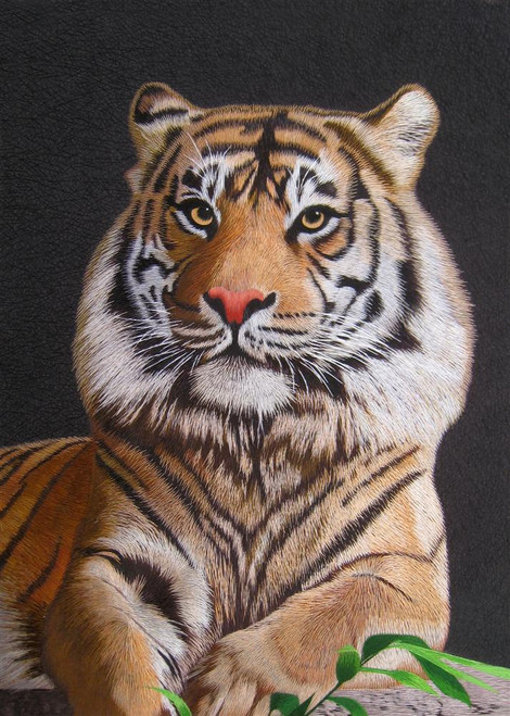 King Silk Art  Wildlife Animal Portrait of a Bengal Tiger 74080