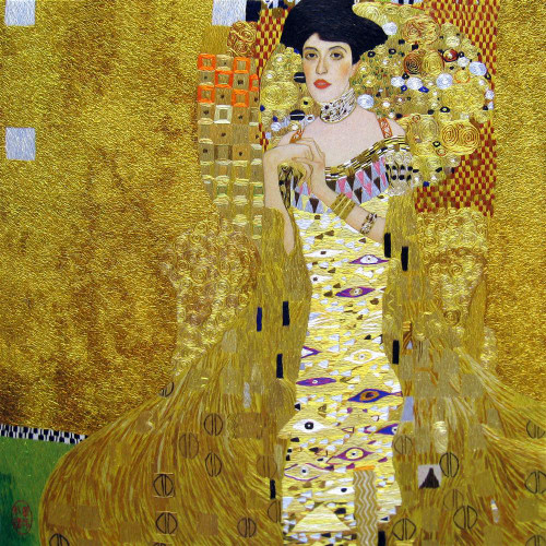 King Silk Art People Portrait of Adele Bloch-Bauer-Klimt 75055
