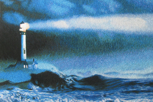 King Silk Art Landscape Lighthouse 77213