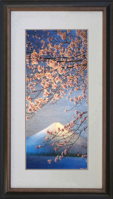 King Silk Art  Landscape Spring Pink Cherry Blossoms 87264