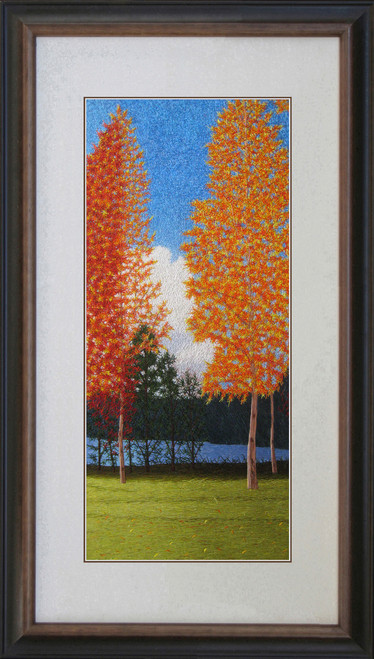 King Silk Art  Landscape Autumn Maple  87266