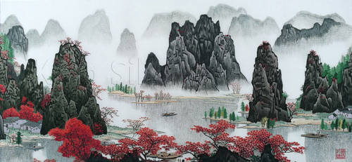 King Silk Art Landscape Gui Lin 77215
