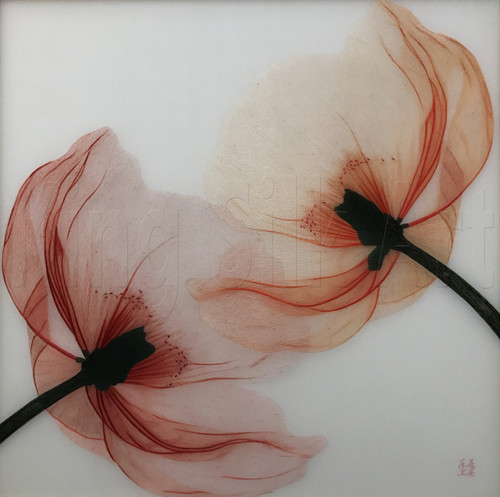 King Silk Art Flower Poppy 76009