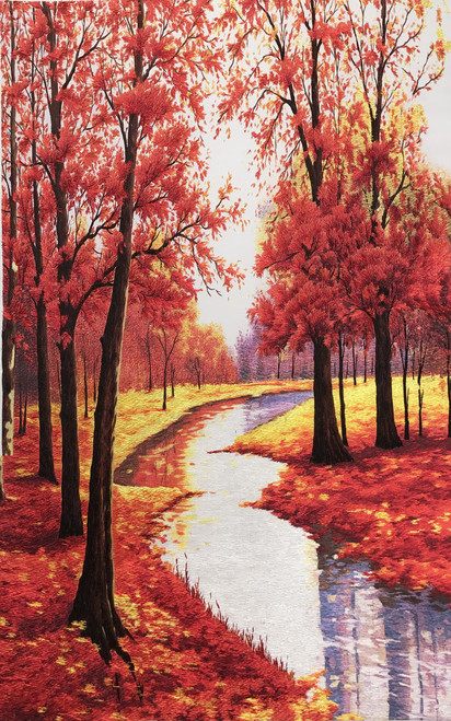 King Silk Art  Red Maple 77058