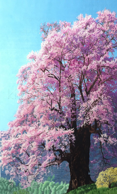 King Silk Art  Landscape Cherry Tree 77090